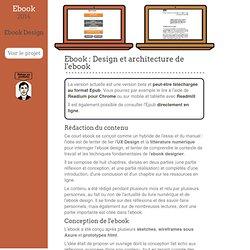 Projet Ebook