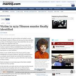 Victim in 1979 Tiburon murder finally identified