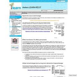 TIC et apprentissage