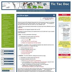Le CDI en ligne