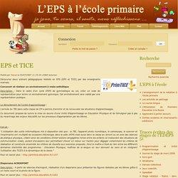 EPS et TICE - EPS - Articles : L'EPS A L'ECOLE PRIMAIRE