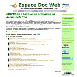 TICE- Espace Doc Web - Académie de Lyon