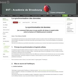 TICE - SVT - Académie de Strasbourg