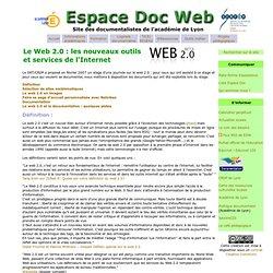 TICE : web 2.0- Espace Doc Web - Acad?mie de Lyon