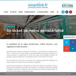 Un ticket de métro dématérialisé