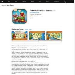 Ticket to Ride First Journey dans l'App Store