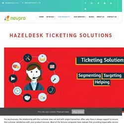 Helpdesk Ticketing System