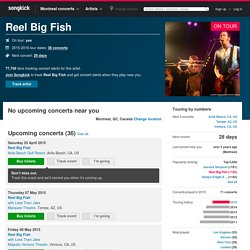 Reel Big Fish Tickets, Tour Dates 2015 & Concerts – Songkick