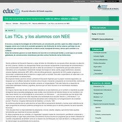 Las TICs. y los alumnos con NEE