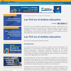 Las TICS en el ámbito educativo - Educrea