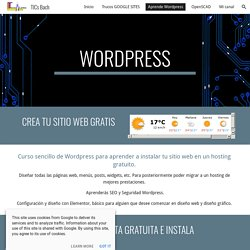 TICs Bach - Aprende Wordpress