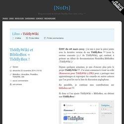 TiddlyWiki - [N0D1]