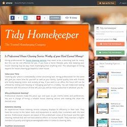 Tidy Homekeeper