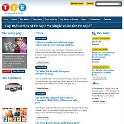 TIE - Toy Industries of Europe