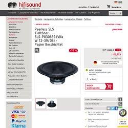 Peerless SLS Tieftöner SLS-P830669 (Vifa W 12-39/08) - Papier Beschichtet kaufen bei hifisound.de