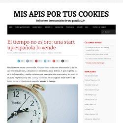 El tiempo no es oro: una start up española lo vende