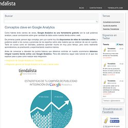 Conceptos clave en Google Analytics