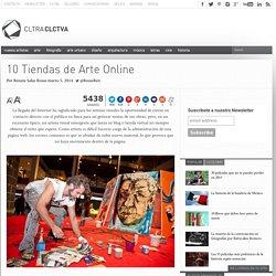 10 Tiendas de Arte Online