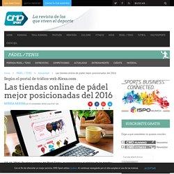 Las tiendas online de pádel mejor posicionadas del 2016 - CMD Sport