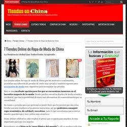 7 Tiendas Online de Ropa de Moda de China