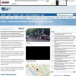archiveweb: Tienduizenden bezoekers tweede dag Deventer op Stelten