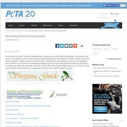PETA Shopping Guide - Der tierfreundliche Einkaufsführer