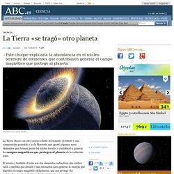 La Tierra «se tragó» otro planeta