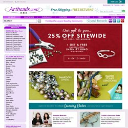 Beads & Jewelry Supplies : Artbeads.com, Swarovski Beads, Glass