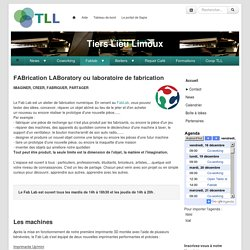 Tiers Lieu Limoux : FabLab