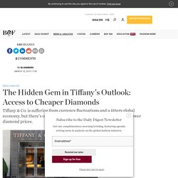 The Hidden Gem in Tiffany's Outlook: Access to Cheaper Diamonds