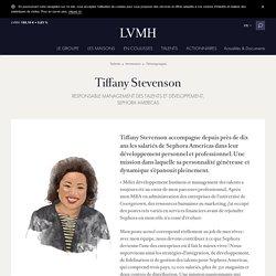 Tiffany Stevenson - LVMH