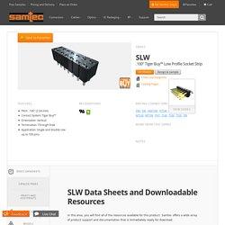 "SLW - .100"" Tiger Buy™ Low Profile Socket Strip"