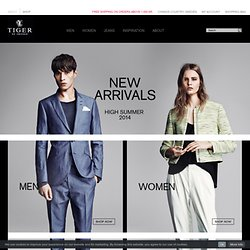 Tiger of Sweden Official Online Shop - Buy Men's and Women's Clothing Tiger of Sweden Official Online Shop - Buy Men's and Women's Clothing - Tiger of Sweden