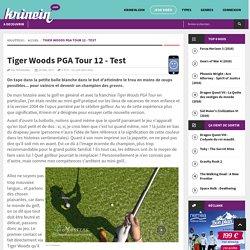 Tiger Woods PGA Tour 12 - Test