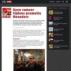 UK: Geen rumoer tijdens promotie Hoenders