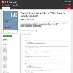Tijdschrift voor Sociaal Recht (TSR).