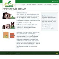 Tijolos EcoCasa