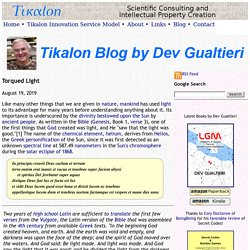 Blog by Dev Gualtieri
