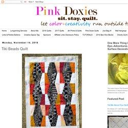 Tiki Beads Quilt