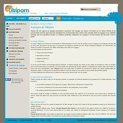 Voyager Autrement - A propos de Tikipam