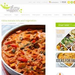 Tikka Masala Tofu and Vegetables