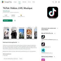 TikTok - Aplicaciones en Google Play