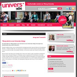 Univers: *Tilburg denkt na over University College