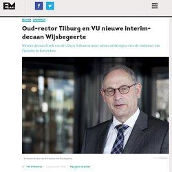 Oud-rector Tilburg en VU nieuwe interim-decaan Wijsbegeerte – Erasmus Magazine