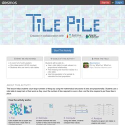 Tile Pile by Desmos