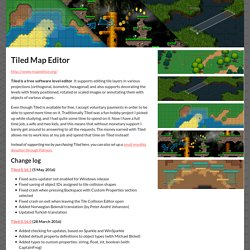 Tiled Map Editor by Thorbjørn