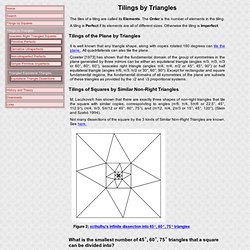 Tiling by Similar Triangles