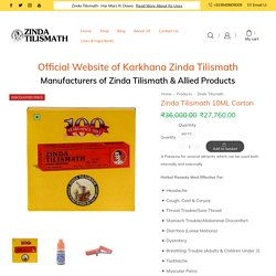 Shop Zinda Tilismath 10ML Carton - Effects, Benefits