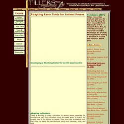 Tillers International: Tools