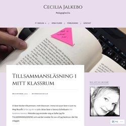 Tillsammansläsning i mitt klassrum – Cecilia Jalkebo